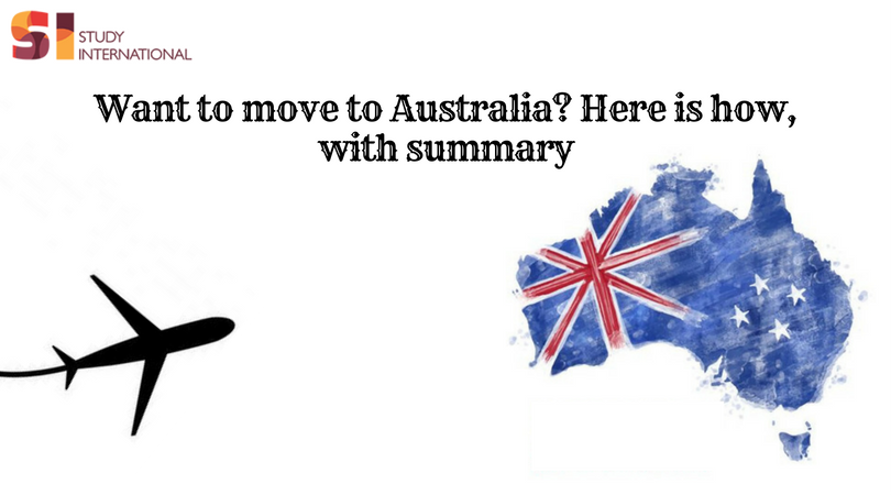 Want to move to Australia? Here is how, with summary