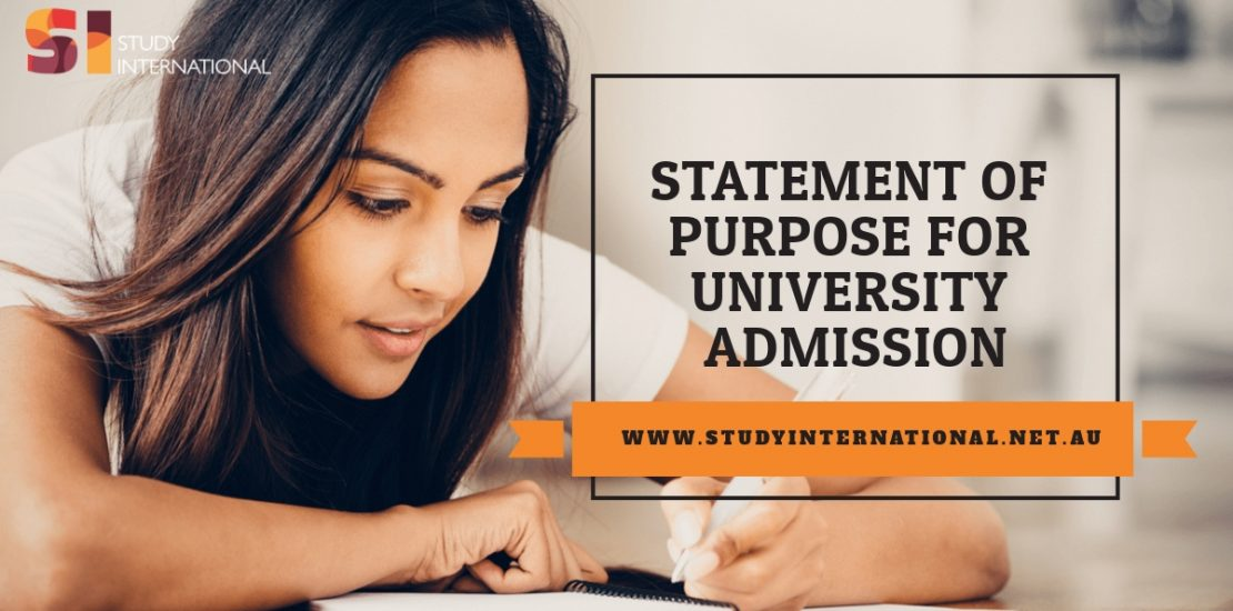 How to write the perfect statment of purpose