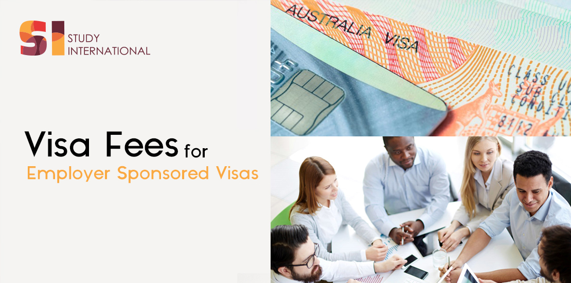 Employer Sponsored Visas Fees